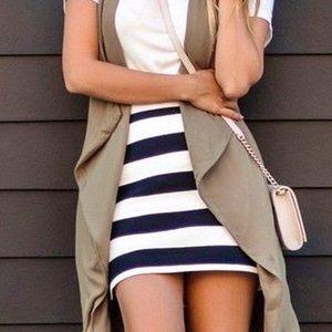 🎬LIKE NEW🎬 FOREVER 21 Striped Mini Skirt